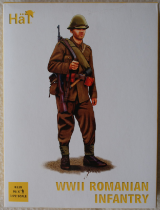HaT 1/72 HAT8118 Romanian Infantry (WW2)